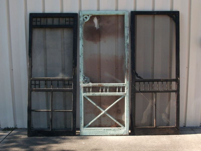 Vintage Screen Doors - Slideshow Photos – Ole Fashion Things