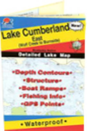 Lake Cumberland (East Section - Wolf Creek to Burnside), Kentucky ...