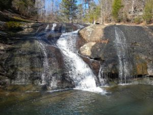 Lay Lake Waterfall